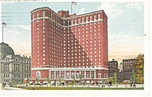 Providence RI Biltmore Hotel Postcard p12596 1932 (Image1)