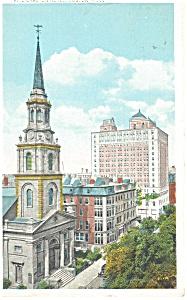 Boston  MA  Ritz Carleton Hotel Postcard p12622 (Image1)