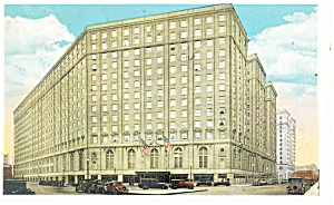 Boston, MA, Hotel Statler Postcard 1934 (Image1)