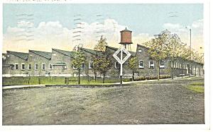 Wayland NY Huguet Silk Mill Postcard p12646 1937 (Image1)