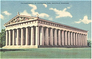 Memphis Tennessee The Parthenon Postcard P1264