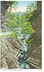 Artist's Dream,Watkins Glen, NY, Postcard (Image1)