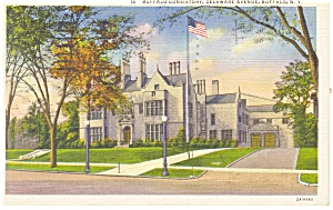 Buffalo NY Buffalo Consistory Postcard p12676 1936 (Image1)