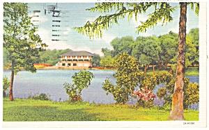 Buffalo NY Cazenovia Park Casino Postcard p12678 1936 (Image1)