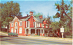 Greenville Tennessee Johnson's Home  Postcard (Image1)