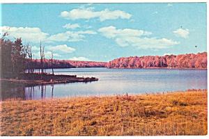 Lake Jean North Mountain PA Postcard p12709 (Image1)