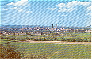 Kingsport Tennessee Eastman Corp. Postcard p1270 (Image1)