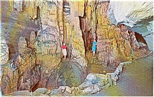 Bristol Caverns TN Entrance Hall Postcard p1272 (Image1)