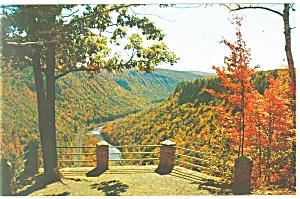 South View at Pennsylvania Grand Canyon Postcard p12754 (Image1)