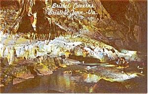 Bristol Caverns TN River Postcard p1275 (Image1)