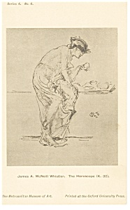 James Whistler Horoscope Artwork Postcard p12794 (Image1)