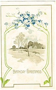 Birthday Greetings Postcard (Image1)