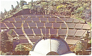 Hollywood Bowl Postcard P12813 1957