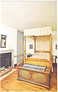 Renfrew Museum Northeast Bedroom Postcard p12815 (Image1)