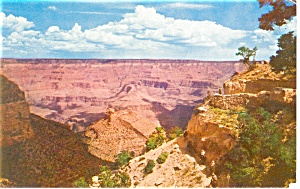 Bright Angel Trail Grand Canyon National Park Az Postcard P12833