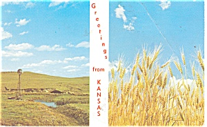 Kansas Farming Postcard 1978 (Image1)