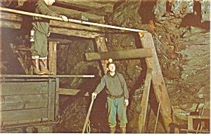 Coal Mining, Ashland, PA Postcard (Image1)