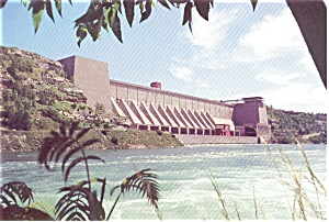 Niagara Power Project Lewiston NY  Postcard (Image1)