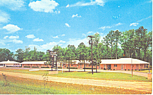 Town And Country Motel Fayetteville Nc Postcard P12885