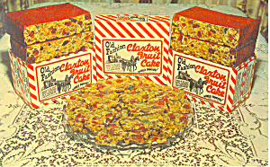 Claxton Fruit Cake New York World S Fair Postcard P12887