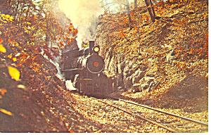 Wilmington and Western Railroad Steam Loco Postcard p12907 (Image1)