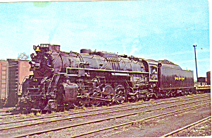 Nickel Plate Steam Loco No 763  Postcard p12911 (Image1)