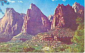Zion National Park,Utah Postcard (Image1)