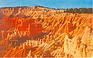 Sunrise Point Bryce Canyon National Park Utah Postcard P12961