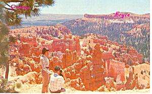 Sunrise Point,Bryce Canyon National Park Utah Postcard p12963 (Image1)