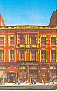 New York City NY Luchow s Restaurant Postcard p12989 (Image1)