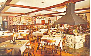 Allentown PA  Alpine Villa Restaurant Postcard  p12990 (Image1)
