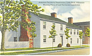 Legislation Meeting Place,Little Rock, AR Postcard (Image1)