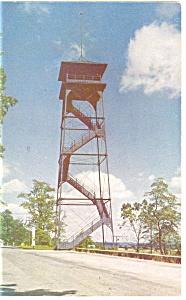 Gettysburg, PA, Oak Ridge Tower Postcard (Image1)