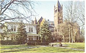 Gettysburg, PA, College  Glatfelter Hall Postcard (Image1)
