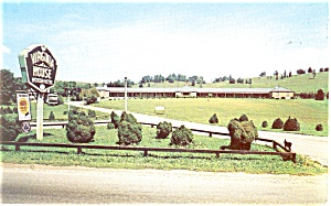 Marion, VA Virginia House Motel Postcard (Image1)