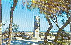 Jacksonville Florida Ribault Marker Postcard p1310 (Image1)