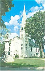 Manchester  VT Congregational Church Postcard p13150 (Image1)