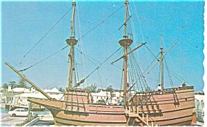 Replica of the Ship Deliverance Postcard p13192 (Image1)