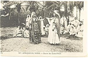 Afrique du Nord Danse des Ouled Nails Algeria Postcard p13220 (Image1)