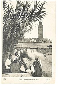 Paysage dans le Sud, African Postcard (Image1)