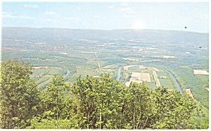Seven Bends of the Shenandoah River  Postcard p13226 (Image1)
