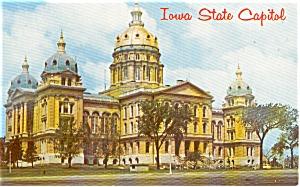 Iowa State Capitol Postcard (Image1)