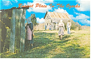 Busiest Place in the Ozarks Postcard (Image1)