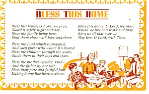 Bless This House Postcard (Image1)