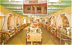 Scottsdale AZ The Wagon Train Postcard p1333 (Image1)