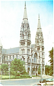 Pittsburgh Pa St Paul S Cathedral Postcard P13350