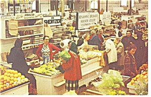 Pennsylvania Dutch Farmers Market Postcard 1969 (Image1)