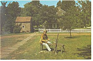 Baumstown,PA Daniel Boone Homstead Postcard (Image1)