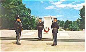 Tomb of the Unknowns,Arlington,VA Postcard (Image1)