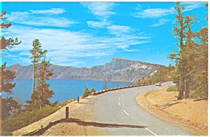 Crater Lake, Oregon Postcard (Image1)